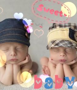 萌+萌!攝影師記錄初生雙胞胎熟睡照,萌翻倍!