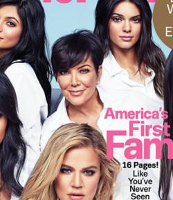 "Kardashian-Jenner自稱""美國第一家庭"",你同意嗎?"