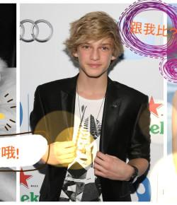 Cody Simpson緋聞女友欲與Gigi一較高下?