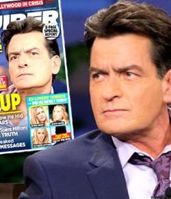號外!好萊塢Charlie Sheen承認身患艾滋病!!