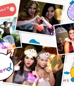 """一路有你"" Selena Gomez 感謝知心姐姐Taylor Swift"