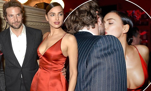 PARIS, FRANCE - MARCH 08:  Cyril Chapuy, Lewis Hamilton, Bradley Cooper  Irina Shayk attend the Red Obsession party to celebrate L'Oreal Paris's partnership with Paris Fashion Week on March 8, 2016 in Paris, France.  L'Oreal Paris spokesmodels accessorised with accents of red to celebrate the launch of the new Color Riche La Palette.  (Photo by David M. Benett/Dave Benett/Getty Images For L'Oreal)