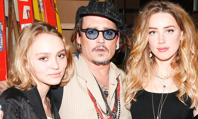 Lily-Rose Melody Depp, Johnny Depp, Amber Heard, Stella McCartney, Orlando Bloom