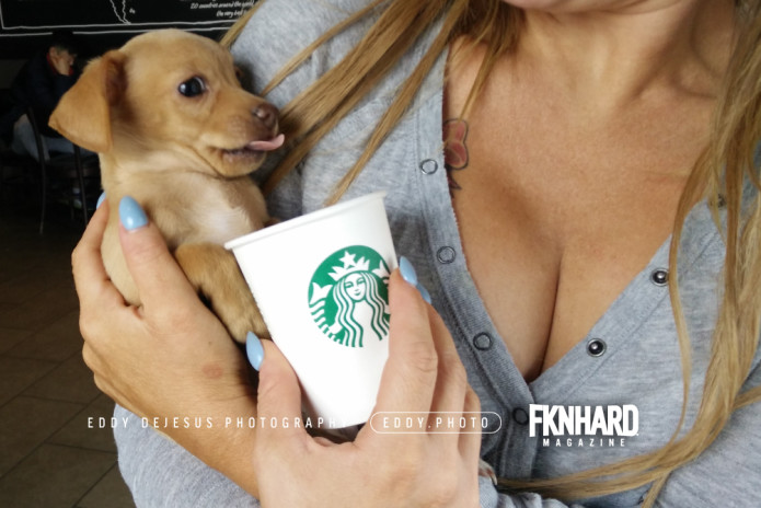 eddy-dejesus-photography-fknhard-magazine-starbucks-puppuccino-whip-cream-drink-cute-puppy-tongue-taste-buds