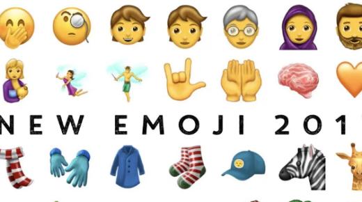 2017新款Emoji將登場:總共69款,6月正式更新!