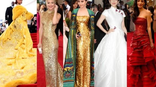 萬眾期待!Met Gala 2017即將舉行,往年最棒紅毯造型大回顧