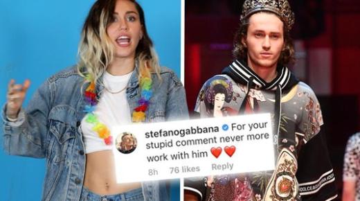 好萊塢和時尚圈撕逼了!小天后 Miley 槓上 D&G!到底誰錯了?